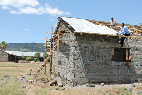 Building Project in Kenya Nakuru
