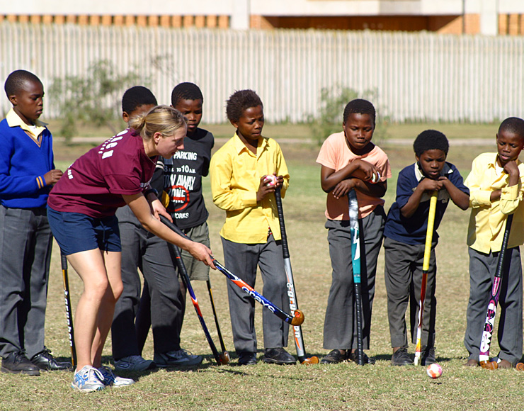 Hockey Coaching Project, South Africa