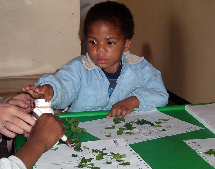 Art and Craft with South Africa Kid
