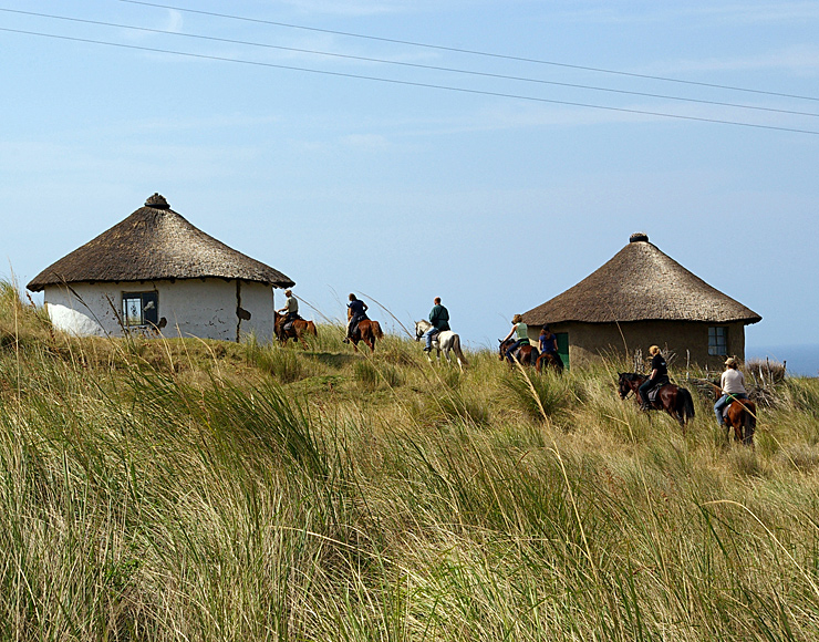 South African Mud Huts
