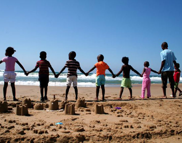 Playing with Kids in South Africa
