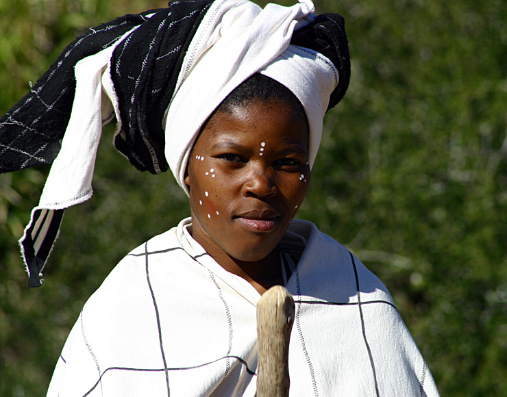 Traditional South African Woman