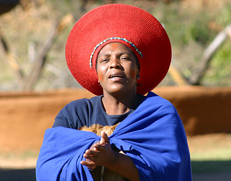Traditional South African Lady
