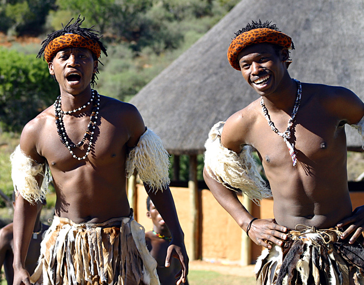 South African Traditional Men