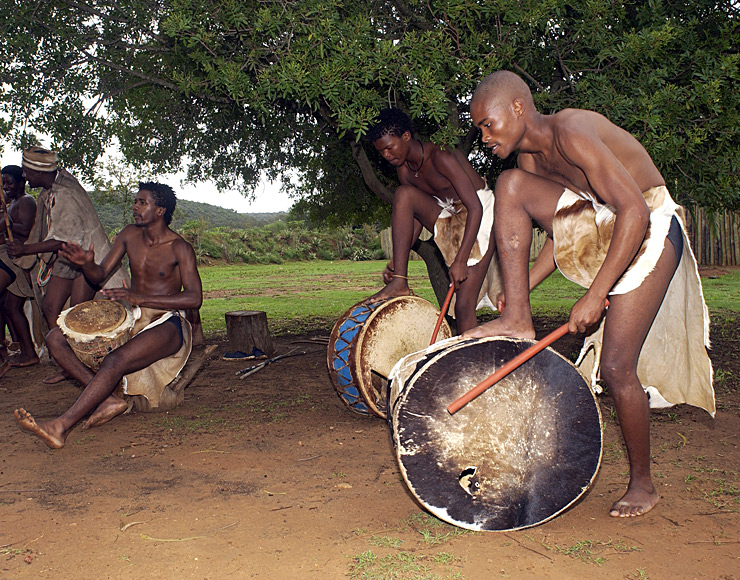 Traditional Drummers South Africa