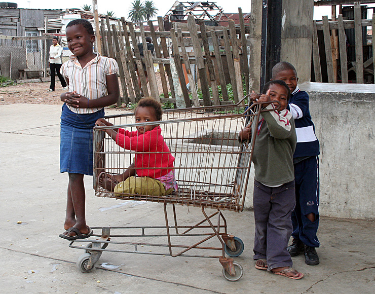 South African Township Kids