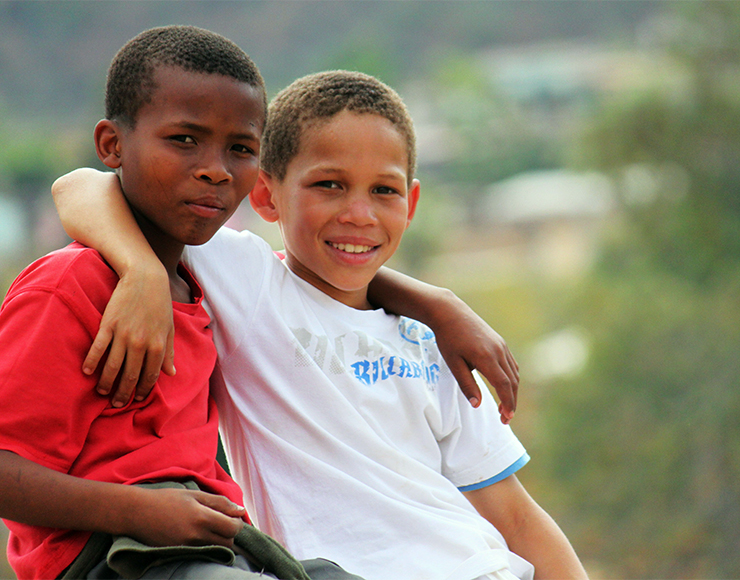 Kids in South Africa