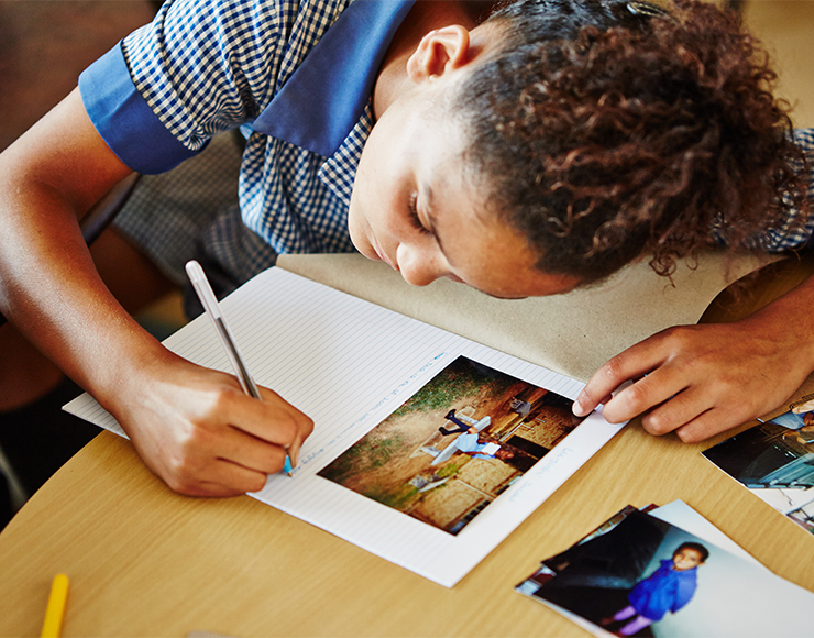 Teaching Kids Photography in South Africa