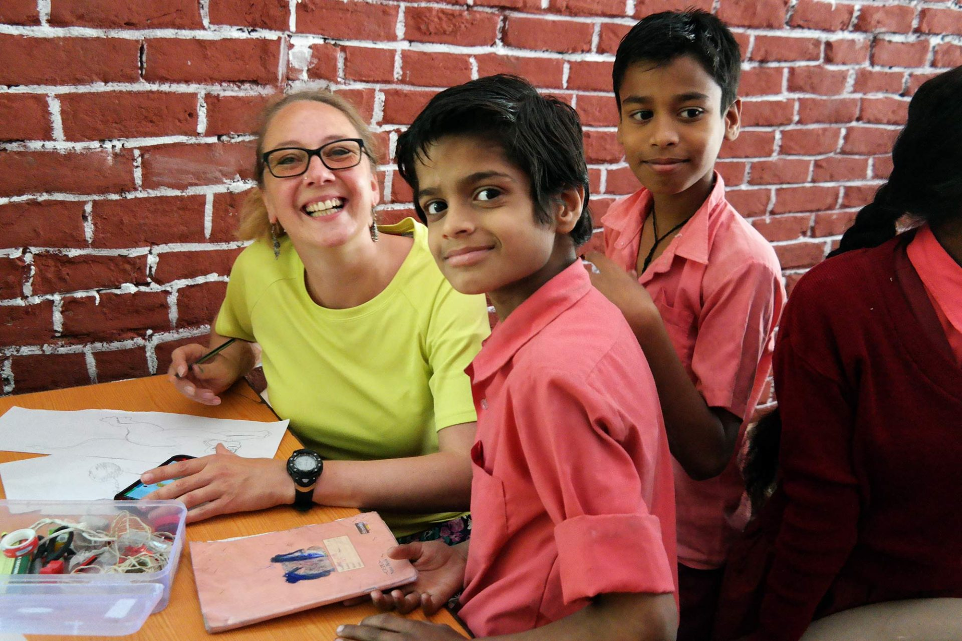 Teaching Project in India