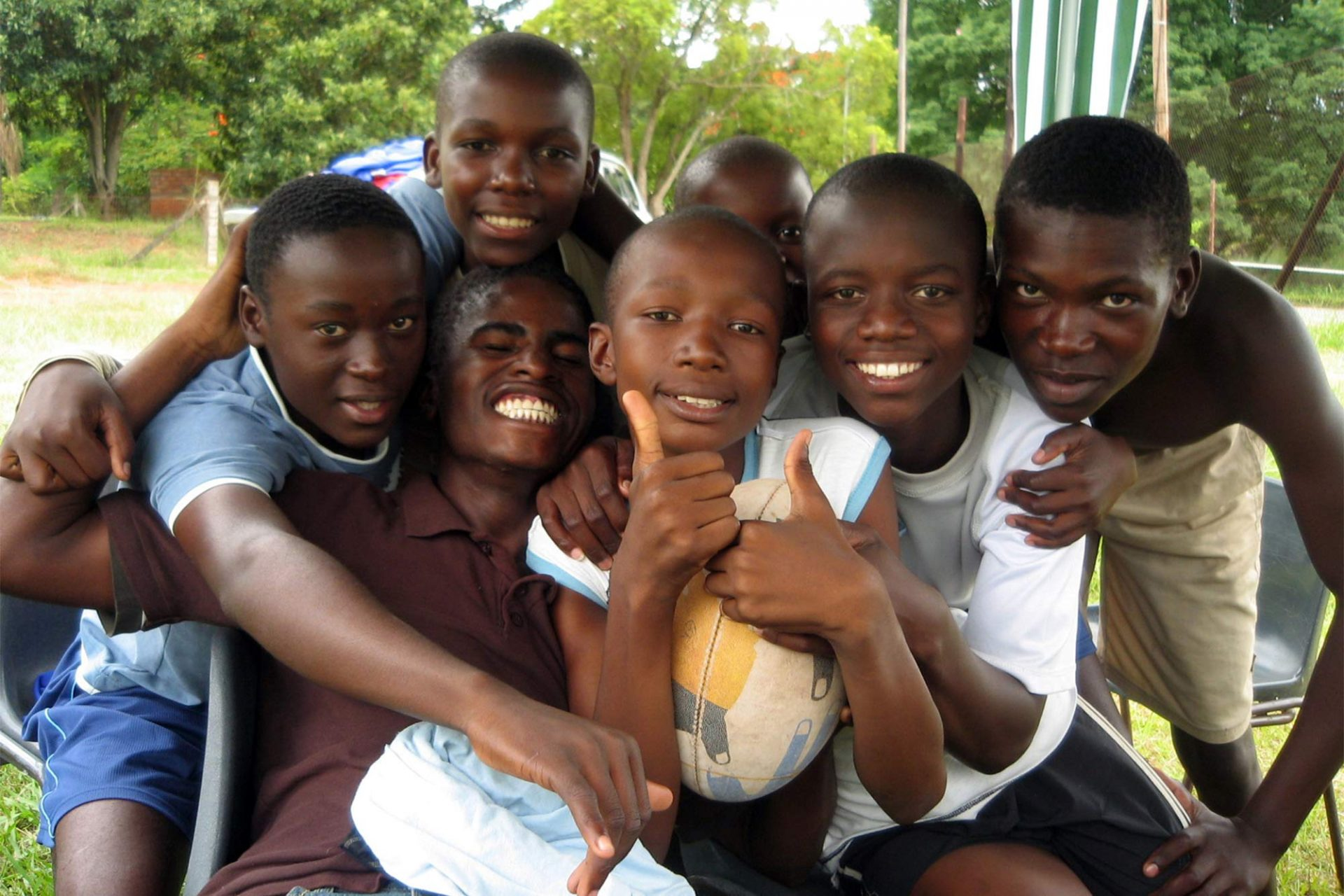 Work with Kids in Africa