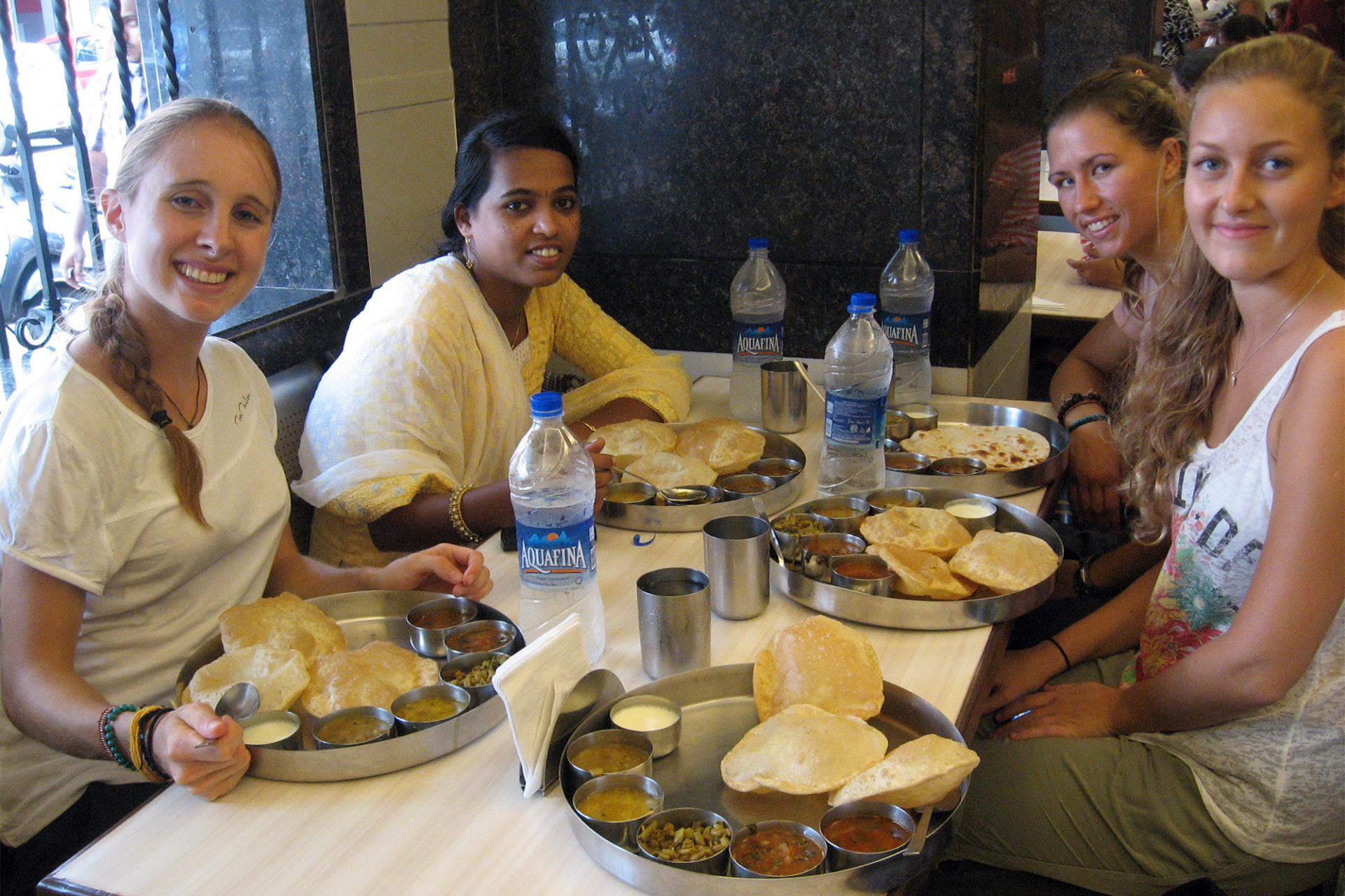 Experience Indian Food on Gap Year