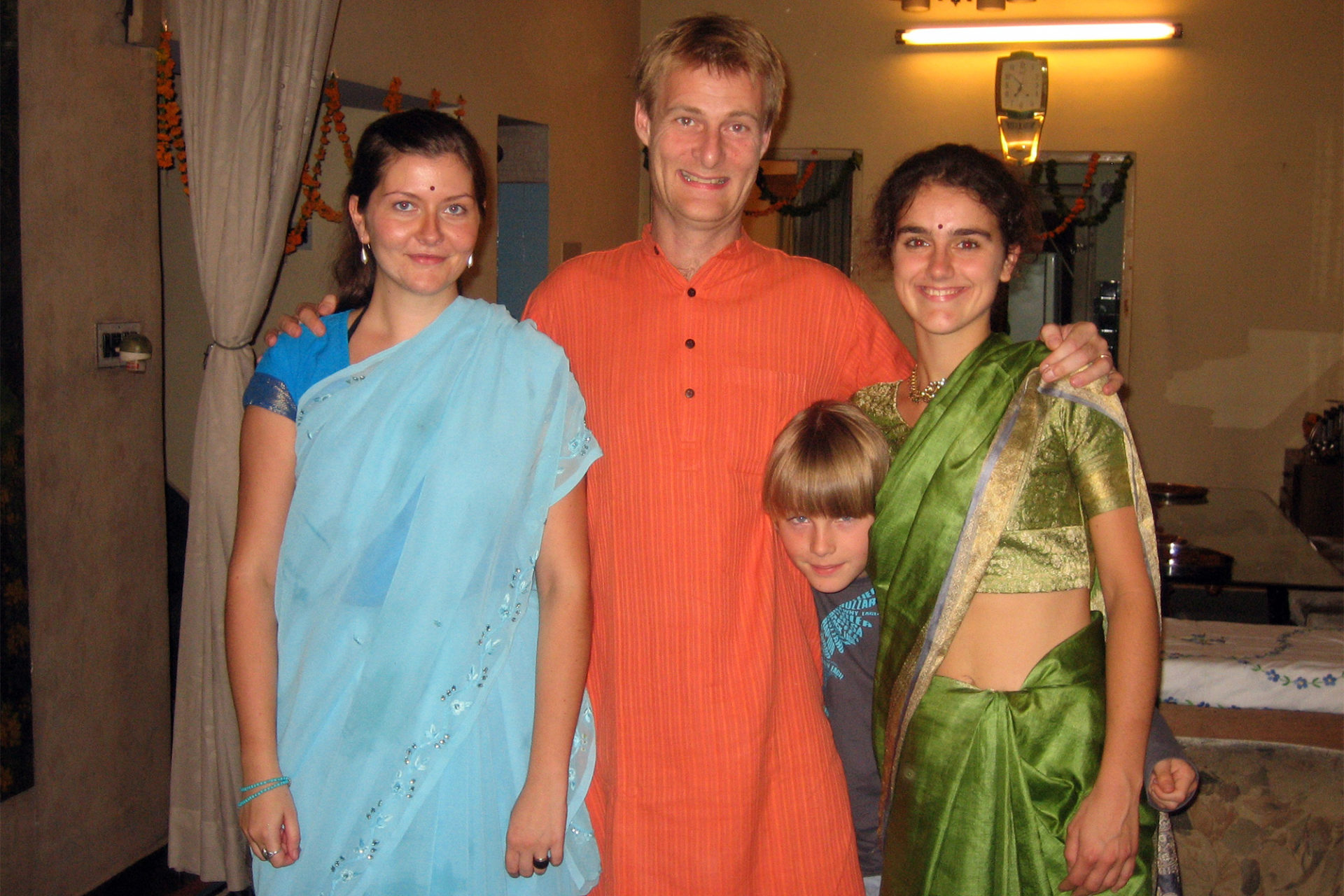 Family Trip in India