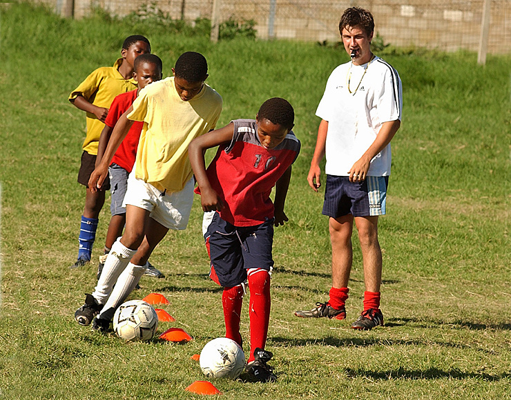 Football Community Project in South Africa