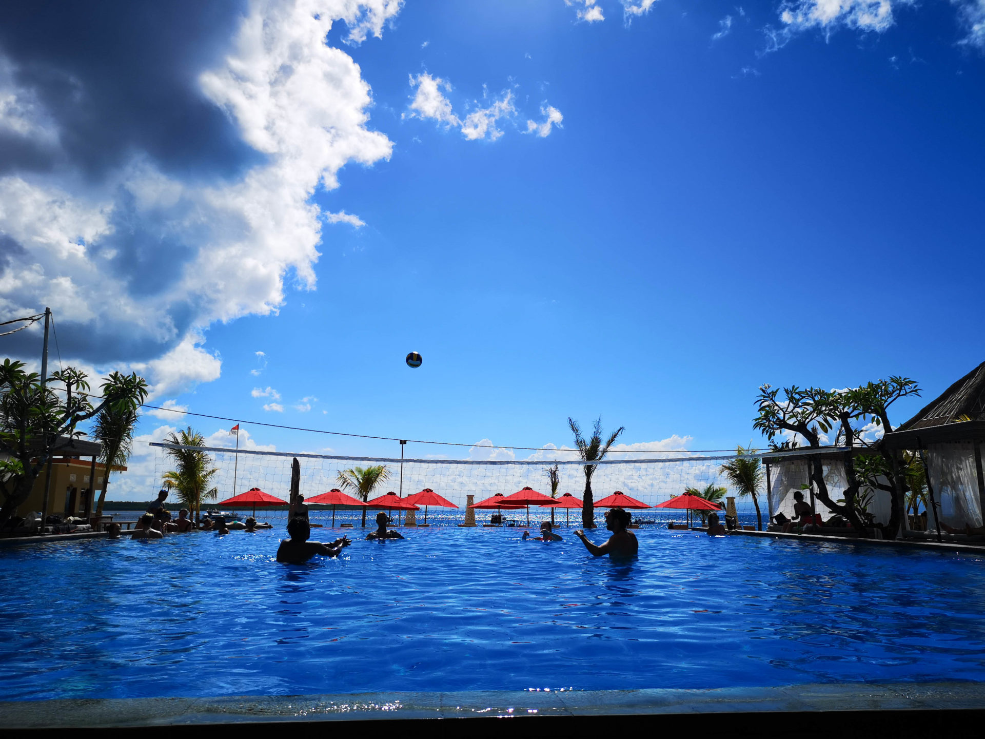 Volleyball in Bali
