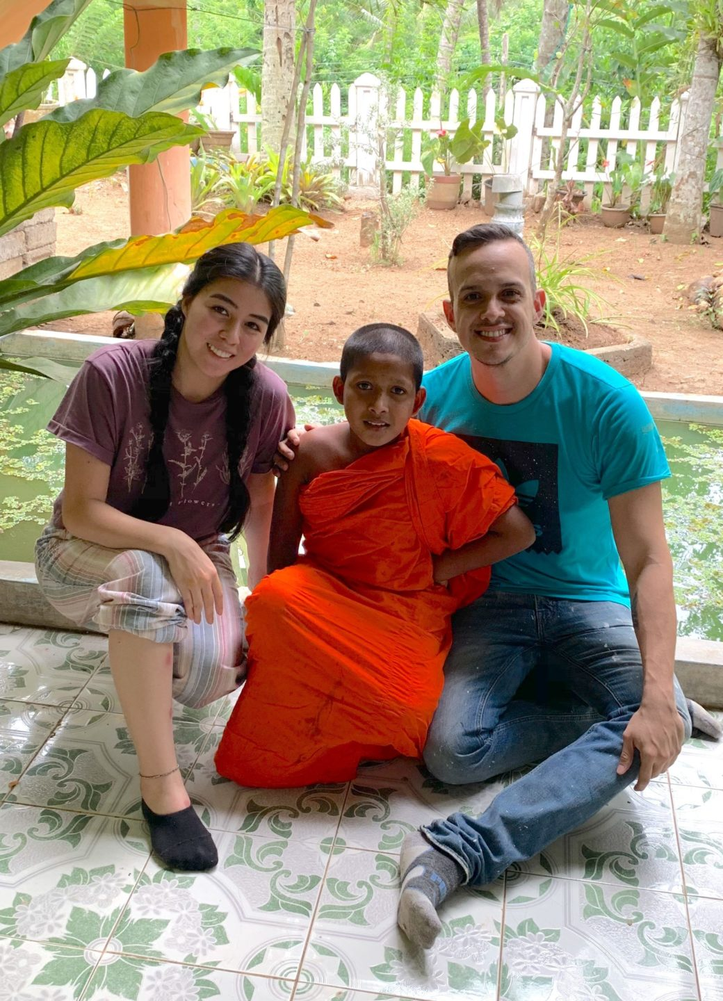 The experiences of Andrés from Colombia in Sri Lanka