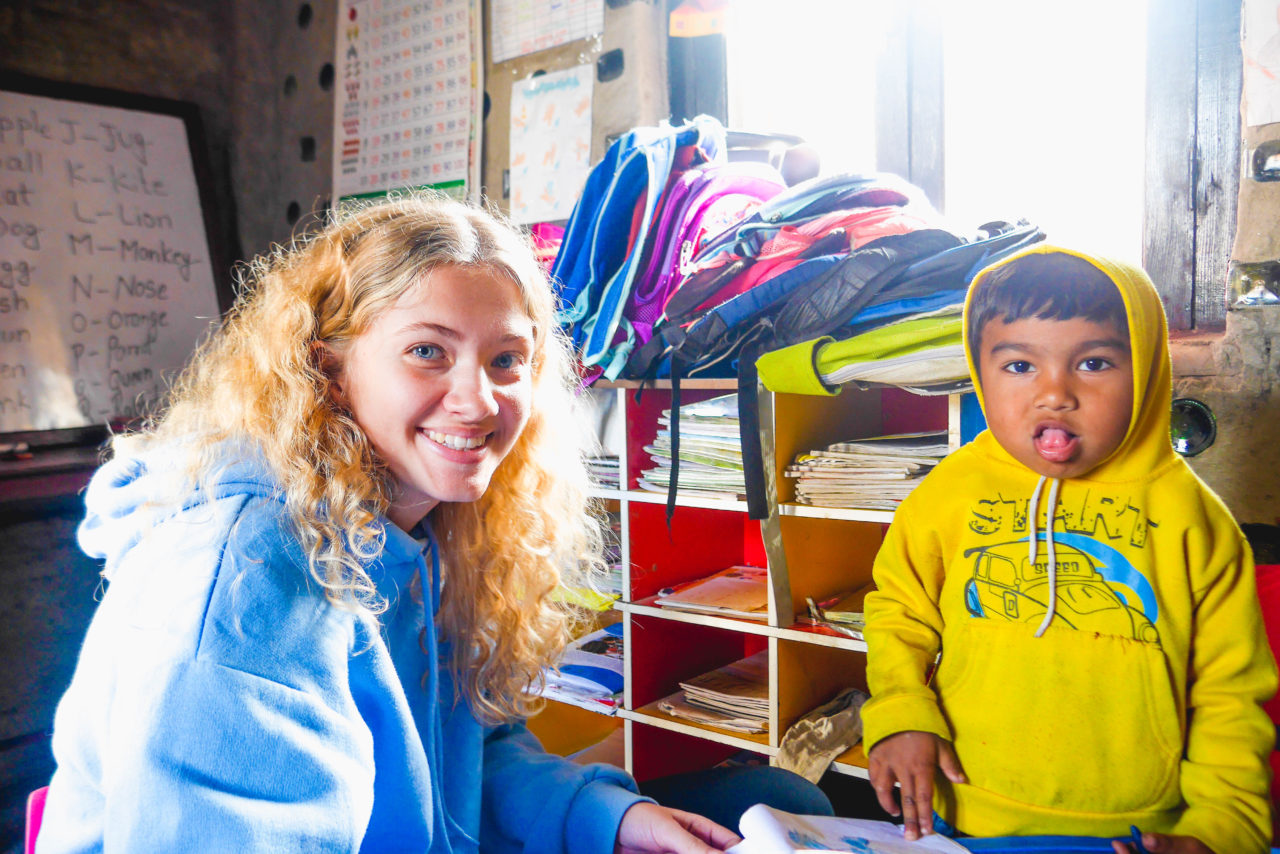 Working with Children in Nepal