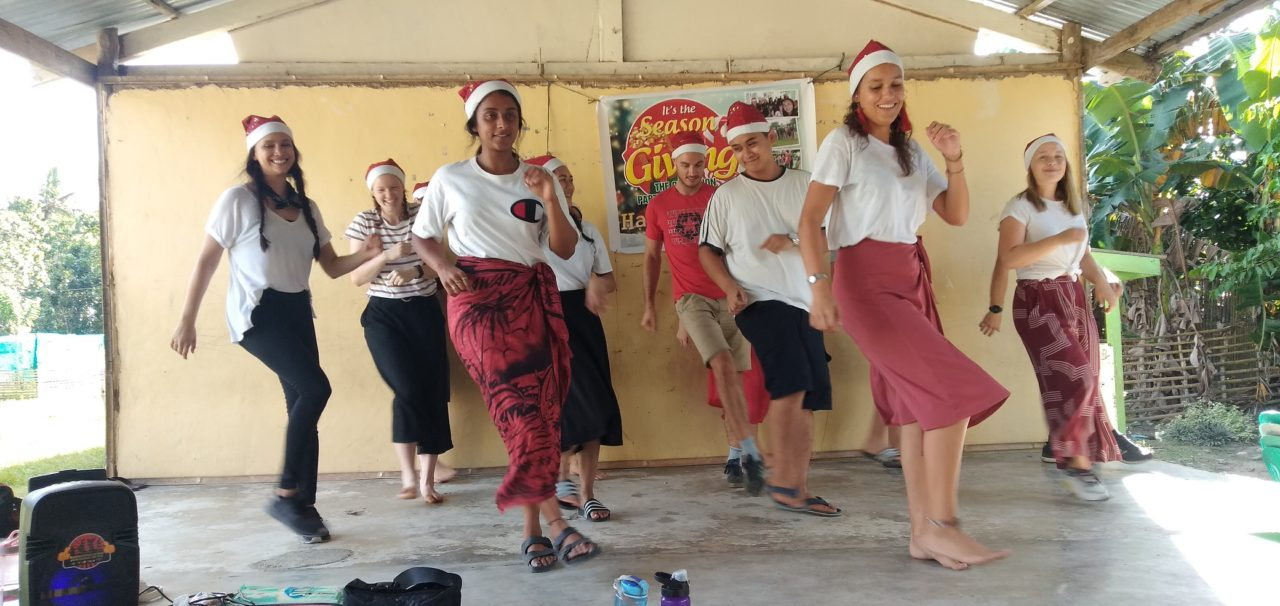 Christmas Dancing in the Philippines