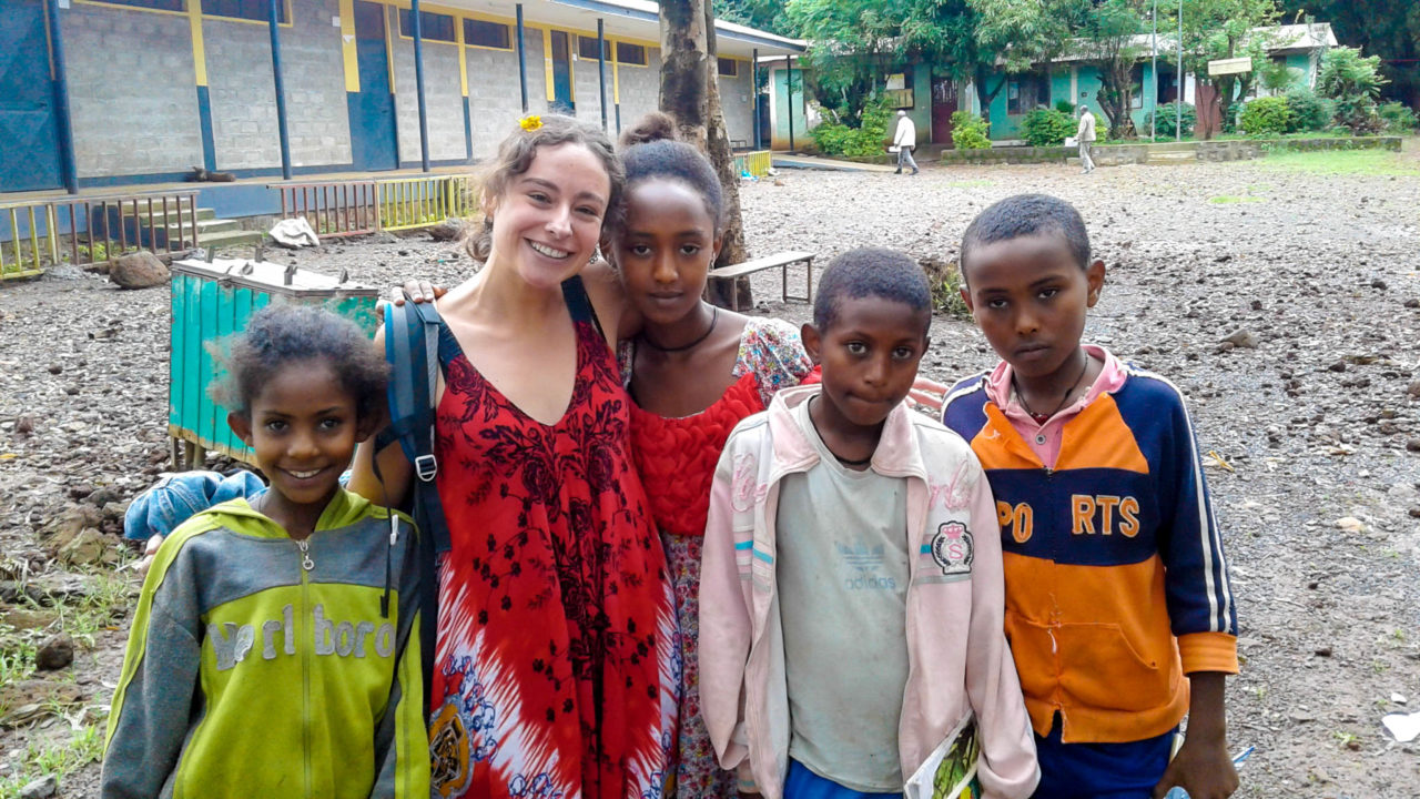 Hanging with the Children in Ethiopia
