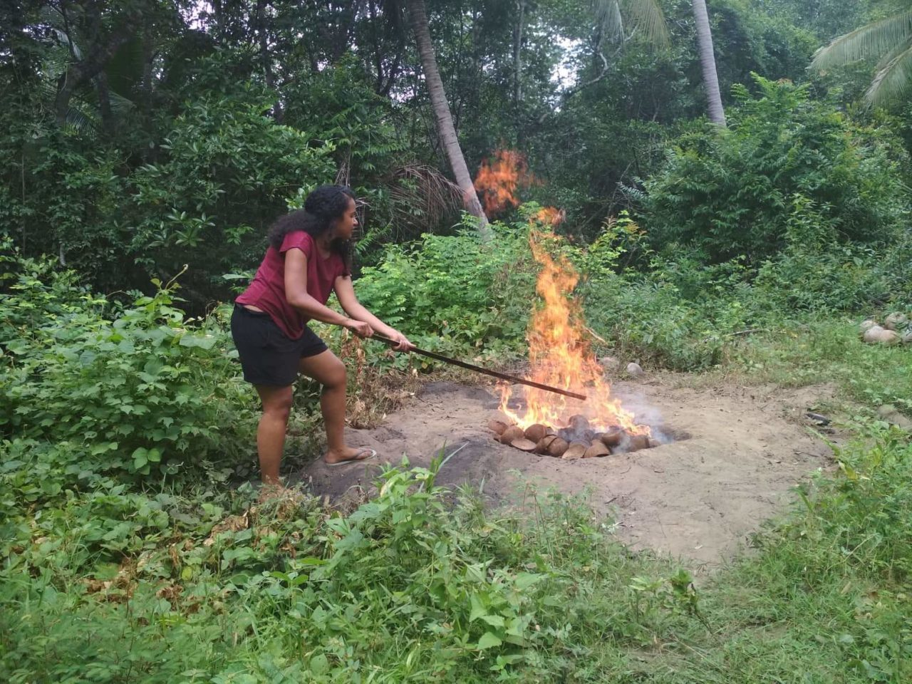 Fire Lighting in the Philipines
